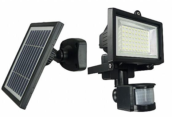 מותג חדש תאורה סולארית 80 לדים עם חיישן תנועה MK-09