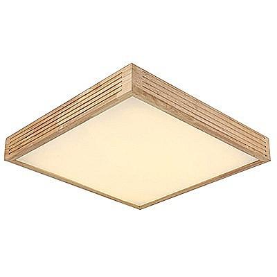 מעולה תאורת לד - פאנל לד צמוד תקרה מרובע 64 וואט עץ XY-73